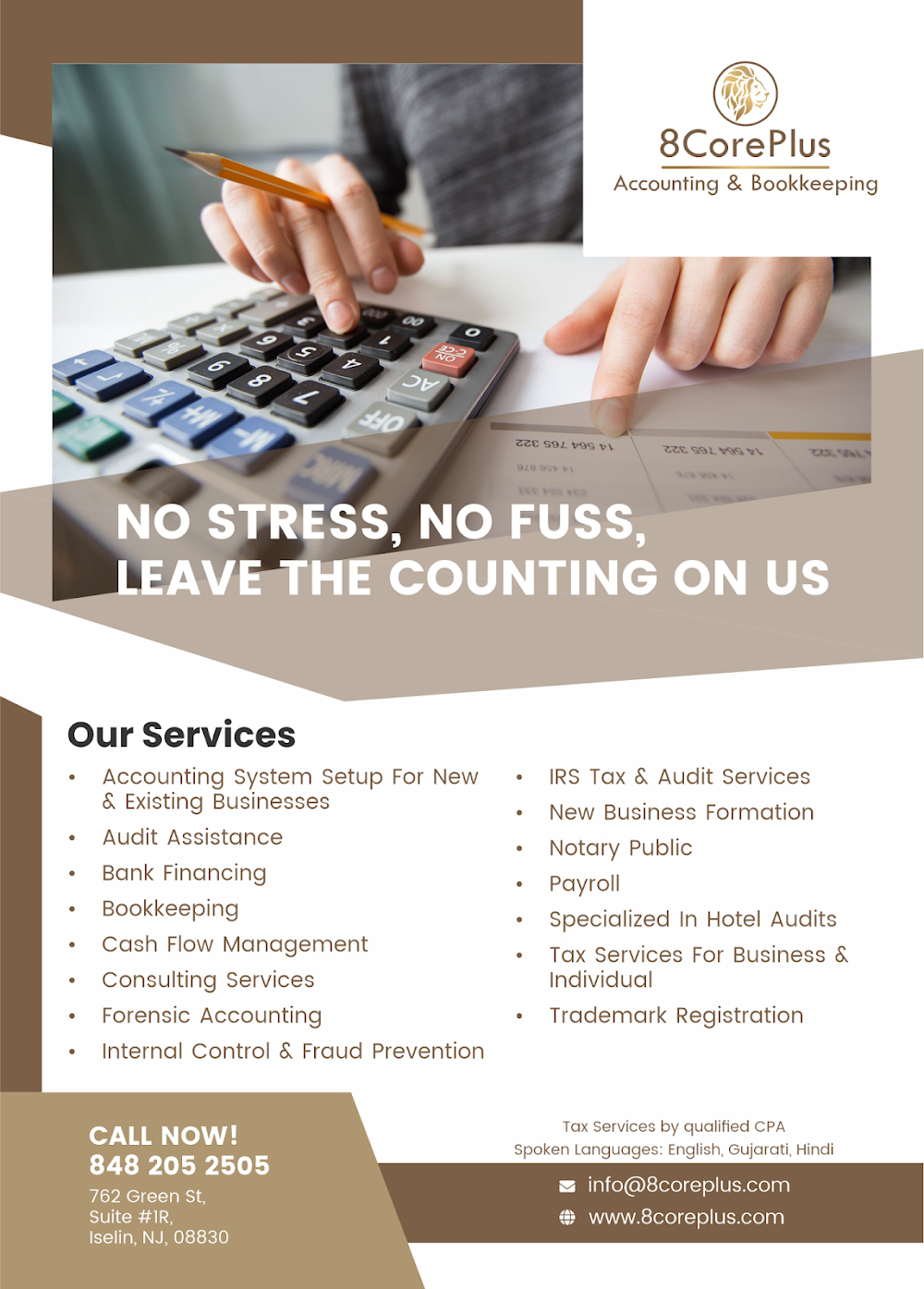 8CorePlus Accounting & Bookkeeping